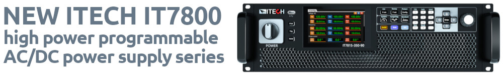 ITECH7800 series launch