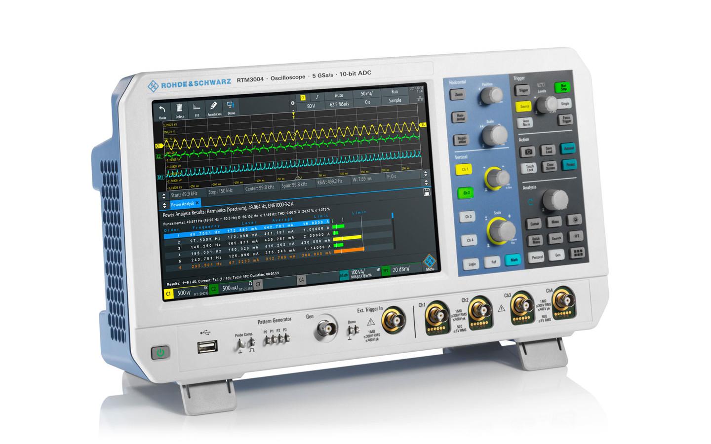 Oscilloscope Pulse Measurement : Rohde and schwarz rtm series digital oscilloscope ttid