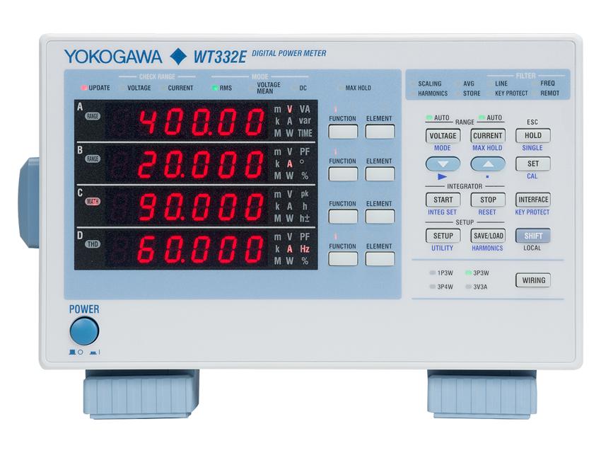 Reliable Power Meters : Yokogawa wt e series power meter ttid