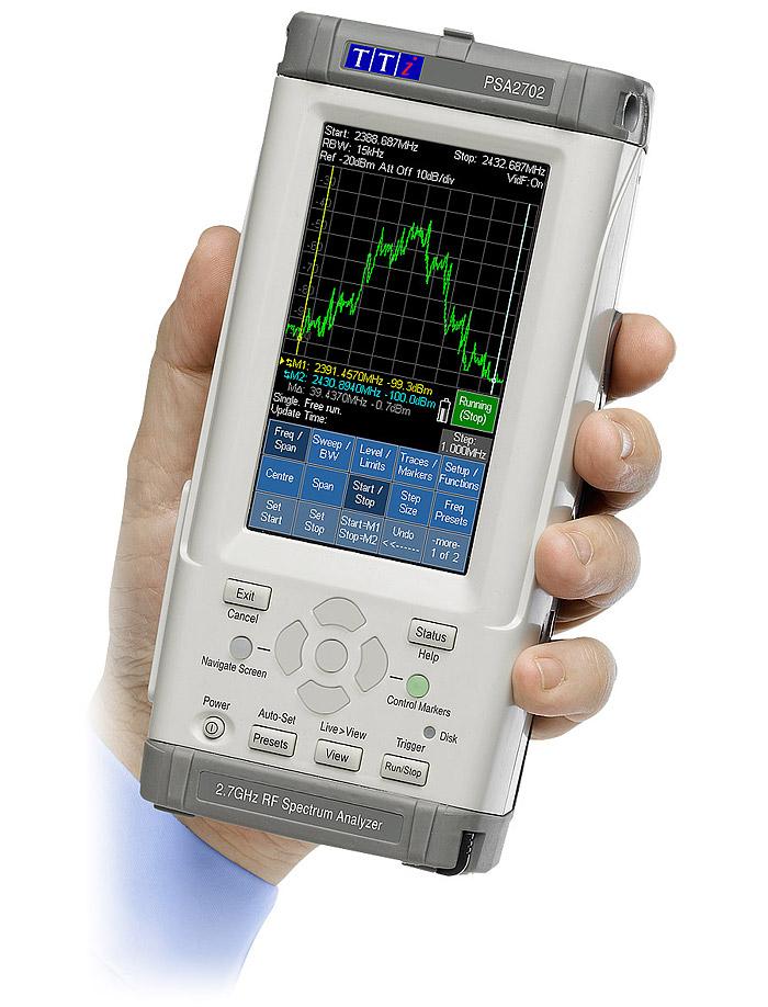 Network Analyzer Hand Held : Aim tti psa series handheld rf spectrum analyzer ttid