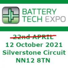 Battery Tech Expo 2020 - now in October 2021!