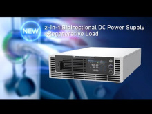 Embedded thumbnail for 62000D bi-direction DC power supply operation