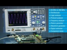 Embedded thumbnail for R&S® RTC1000 - X-in1 oscilloscope