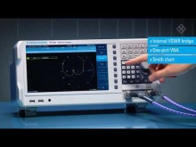 Embedded thumbnail for Rohde and Schwarz FPC1500 vector network analysis