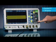 Embedded thumbnail for R&S® RTM3000 - Spectrum analysis and spectrogram