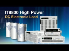 Embedded thumbnail for ITECH IT8800 and IT8912E DC Electronic Loads