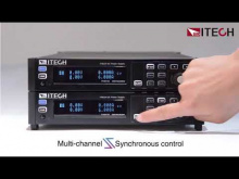 Embedded thumbnail for ITECH IT-M3100 DC Power Supply feature: synchronous operation