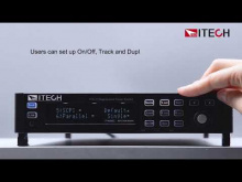 Embedded thumbnail for ITECH IT-M3600 Series 3 minute introduction