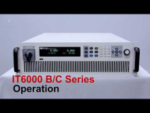 Embedded thumbnail for ITECH Operation of IT6000 Series