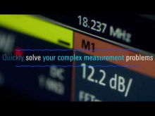 Embedded thumbnail for Get an impression of the Rohde and Schwarz RTO6: Instant insight meets in-depth information