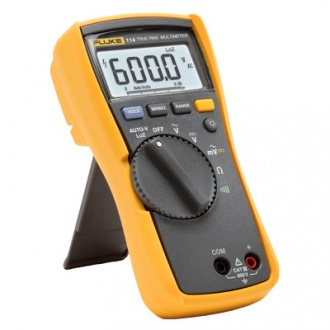 Fluke 114 (110 Series) Digital Multimeter side view