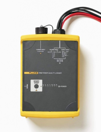 Fluke 1744 3 phase power quality logger