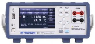 BK Precision BK2841 (BK2840 Series) DC resistance meter - front panel