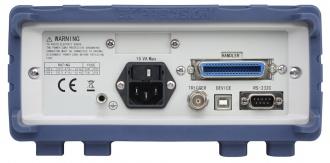 BK Precision BA6010/11 battery analyzer (BA6010 series) - rear