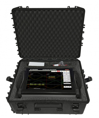 BK Precision Sefram DAS1700 data acquisition system - in flight case