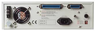 Chroma 11022 LCR meter back panel