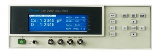 Chroma 11022 LCR meter front panel