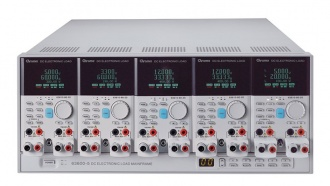 Chroma 63500 Series DC Load 5 channel main-frame with modules