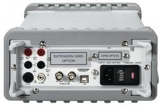 Chroma 12061 Digital multimeter - back