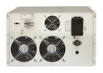 Elettrotest CPS/M AC power source - 10kVA version rear