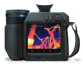 FLIR T800 series thermal imager - back