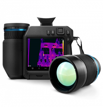 FLIR T840-Thermal Imager with additional lens