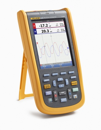 Fluke 124B ScopeMeter (120B series) - angle