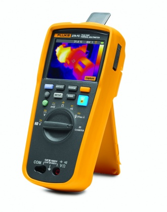 Fluke 279 FC Thermal Imaging Multimeter - right with IR