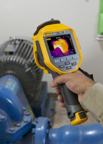 Fluke Ti480 PRO thermal imager - application image