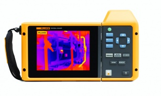 Fluke TiX580 back (Expert Series) Thermal Imager