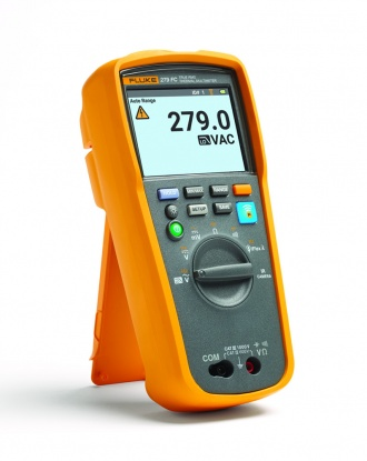 Fluke 279 FC Thermal Imaging Multimeter - left with reading