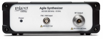 Pico PicoSource AS108 8 GHz Agile Synthesizer - front panel