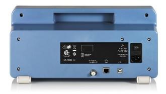 Rohde & Schwarz FPC1000 Spectrum Analyzer - rear