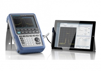 "Rohde and Schwarz FPH Series ""Spectrum Rider"" spectrum analyzer - with tablet"