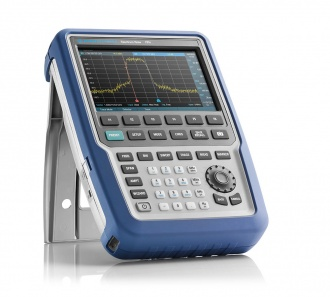 "Rohde and Schwarz FPH Series ""Spectrum Rider"" spectrum analyzer - on stand"