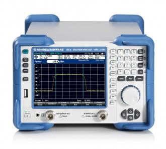 Rohde and Schwarz FSC Spectrum Analyzer - front