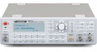 Rohde & Schwarz (HAMEG) HM8123 Frequency Counter - front