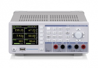 Rohde and Schwarz HMC8015 power analyzer - front