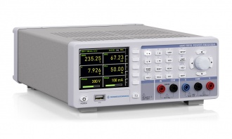Rohde and Schwarz HMC8015 power analyzer - side