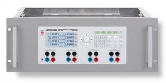 Rohde & Schwarz (HAMEG) HZP91 rack kit (shown with HMP4040)