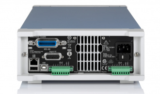 Rohde and Schwarz NGM202 (NGM200 Series) - rear with optional GPIB fitted