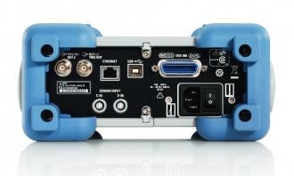 Rohde and Schwarz NRP2 RF power analyzer - rear