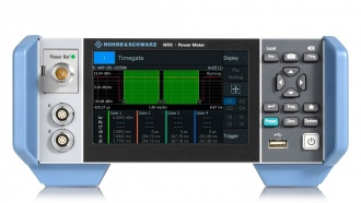 Rohde and Schwarz NRX front with optional NRT interface fitted