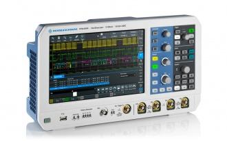RTA4004 (RTA4000 Series) oscilloscope - side
