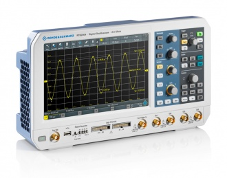 Rohde & Schwarz RTB2004 (RTB2000 Series) Oscilloscope - side