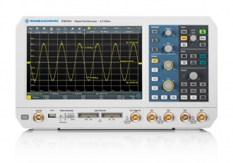 Rohde & Schwarz RTB2004 (RTB2000 Series) Oscilloscope - front