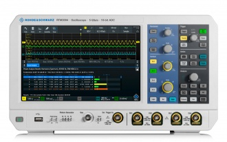 RTM3004 (RTM3000 Series) oscilloscope - front