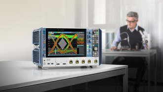 Rohde & Schwarz RTP084 (RTP Series) Oscilloscope - on desk