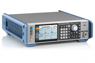 Rohde and Schwarz SMB100B Signal Generator - angled