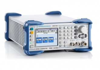Rohde and Schwarz SMC100A signal generator - angled